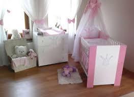 babyzimmer rosa krone rosa komplett set babybett kinderbett wickelkommode