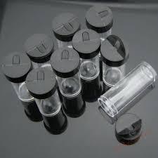 30pcs lot b72 wholesale clear small mini tube bead display nail