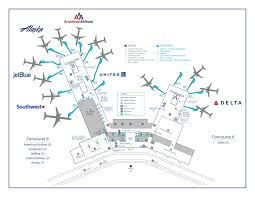 Atlanta International Airport Map by Charleston International Airport Advertising