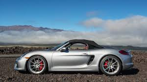first porsche car 2016 porsche boxster spyder review and test drive with horsepower