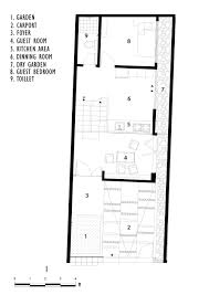 Small House Plans For Narrow Lots by Small Modern House With Split Level Interior Design Idea On 6