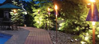Backyard Staycations Greenville Landscape Lighting Creates Amazing Staycations In Your