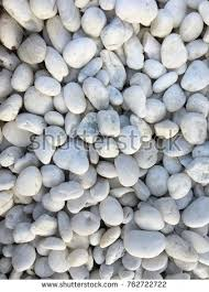White Rock Garden White Rock Garden Decoration Stock Photo 762722722