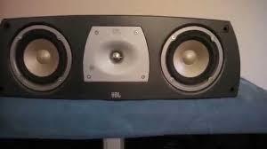 jbl home theater speakers jbl northridge series n center center chanel speakers youtube
