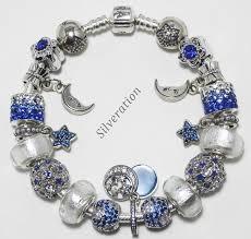 silver european bracelet images Starry night quot authentic pandora charm bracelet w 925 sterling JPG