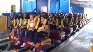 6 Flags California Tickets Scream Off Ride Hd Six Flags Magic Mountain Youtube
