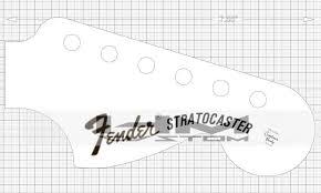 1970 fender stratocaster headstock logo decal loja online hmcustom