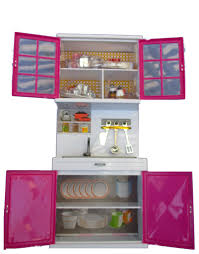 3 piece pink kitchen for barbie size dolls