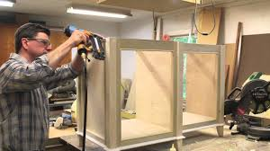 how to build a bathroom vanity cabinet part 2 youtube
