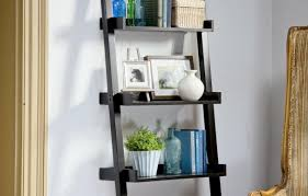 Wood Magazine Ladder Shelf Plans by How To Build A Ladder Bookshelf This Old House