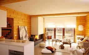 Contemporary Log Home Mountain Pinterest Modern Log Cabins - Interior design for log homes