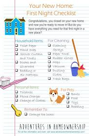 things you need for new house 23 best images about moving home on pinterest overnight bags