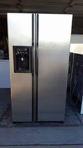 Matte Appliances Ge Matte Stainless Steel Refrigerator Appliances In Mesa Az