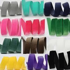 velvet ribbon 3mm 50mm high quality velvet ribbon no elastic for wedding diy