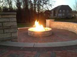Custom Fire Pit by Custom Fire Pit Conversion To Fireglass Exsisting Fire Pit