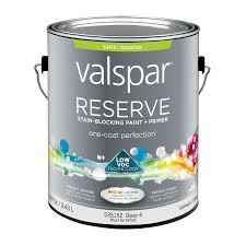 shop valspar reserve satin latex exterior paint actual net