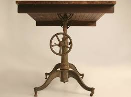 Iron Drafting Table Furniture Intriguing Antique Cast Iron Drafting Table Antique