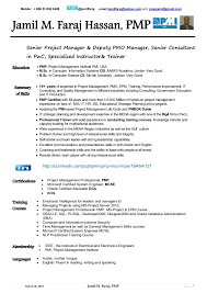pmo director resume 17 pmp sample resume process manager resume example cover