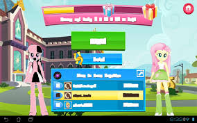 screencap android 733105 android equestria fluttershy gameloft glitch