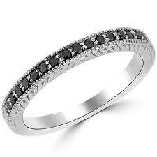 white and black diamond engagement rings black diamond engagement rings jewelry point