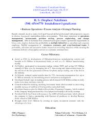Resume Manager Sample Resume For Consulting Resume For Your Job Application