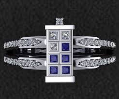 doctor who wedding ring tardis wedding ring dudeiwantthat