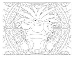 151 pokemon coloring pages images mandalas