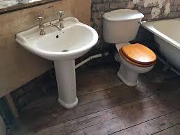 ideal standard revue bathroom suite with bette steel bath in