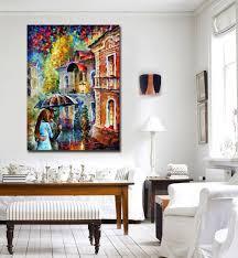 Livingroom Cafe Aliexpress Com Buy Rainy Kiss Modern Living Room Wall Painting