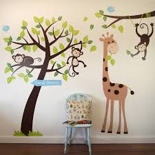 animals and tree wall sticker by parkins interiors