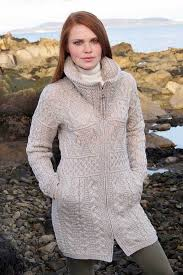 cable knit sweater womens cable knit sweater coat aran sweaters direct