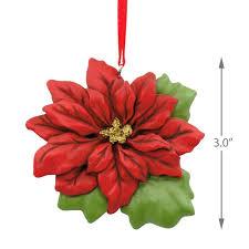 poinsettia hallmark ornament specialty ornaments hallmark