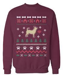 chihuahua sweater holidays