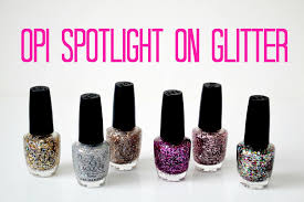 review and swatches opi spotlight on glitter collection youtube