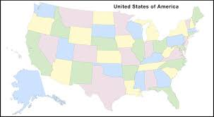map of united states countries and capitals states and capitals of the united states labeled map