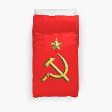 Sickle Russian Flag Russia Ussr Communist Soviet Union Hammer U0026 Sickle Gold On