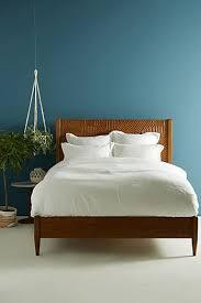 Blue Bed Frame Bed Frames Headboards Anthropologie