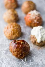 healthy baked turkey meatballs 7 ways freezer friendly sweet