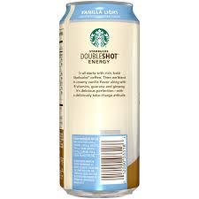 starbucks doubleshot vanilla light starbucks doubleshot vanilla light energy coffee drink 15 fl oz
