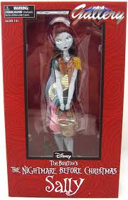 sally nightmare before femme fatales pvc statue at