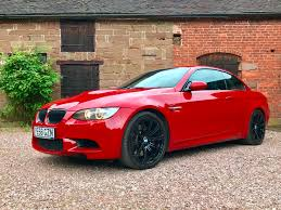 bmw jeep red used bmw m3 convertible for sale motors co uk