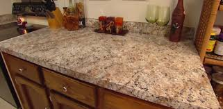 Formica Kitchen Countertops How To Apply Faux Granite Kitchen Countertop Paint Today U0027s Homeowner