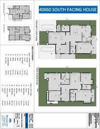 Home Design Plans 30 40 by Exclusive 7 40x60 House Plans North Facing 40 X 60 Home Shape