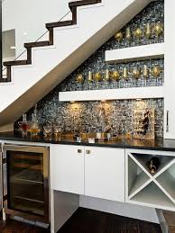 basement bar under stairs inspiring window property by basement