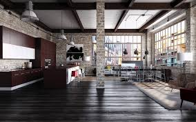 industrial loft on behance