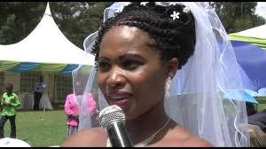 kenyan bridal hairstyles maggie eric wedding dec 5th 2015 kenya youtube
