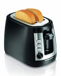 Best 2 Slice Toaster Amazon Com Hamilton Beach Warm Mode 2 Slice Toaster 22810