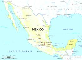 Maps Mexico Map Mexico In Of Showing Cancun World Maps Throughout All World Maps