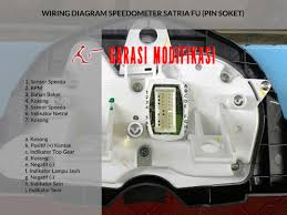 wiring diagram speedometer satria fu u2013 child blog garasi modifikasi