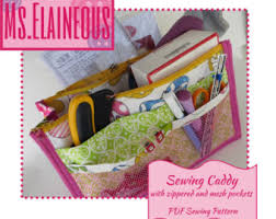 Armchair Sewing Caddy Pattern Sewing Caddy Etsy